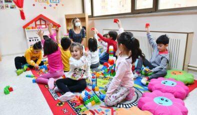 Büyükşehir'in Çocuk Gündüz Bakımevlerine Yoğun İlgi