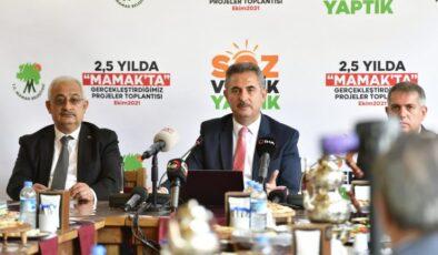 """Başkan Köse:""""Projelerimizin yüzde sekseninin gerçekleştirdik"""""""