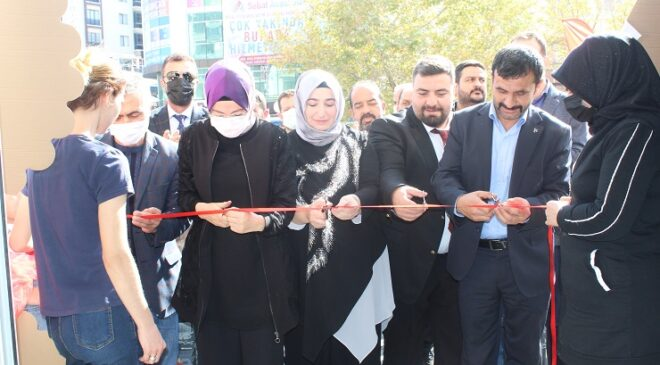 Akyurt'ta Gençlik Showroom açıldı
