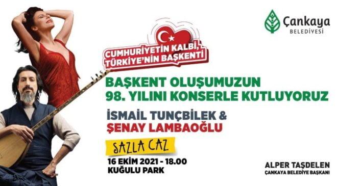 Ankara'nın Başkent oluşunun 98. yıl dönümü