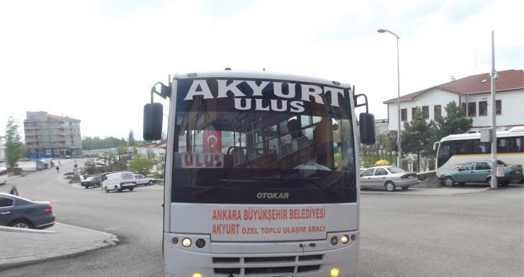 Akyurt yolcu taşıma otobüslerinde 'sivil' denetim