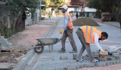 İzmit Seyfibey Sokak'ta çalışmalar sürüyor