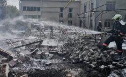 Ankara'da MTA Genel Müdürlüğü'nde patlama