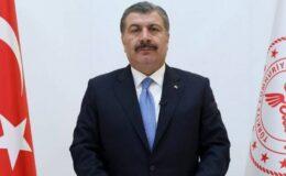 """Bakan Koca: """"Ön saflarda mücadele çağrısı gençlerde"""""""