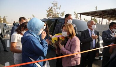 Başkan Şahin, Gaziantep'in yenilenen yolunu açtı