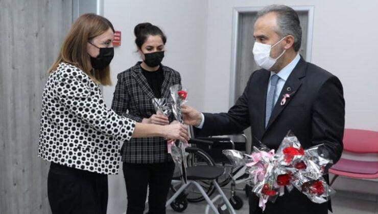 Bursa'da Meme Kanseri farkındalık etkinliği