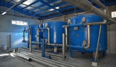 Bursa Keles'e içme suyu arıtma tesisi