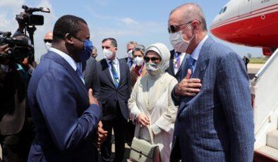 Cumhurbaşkanı Erdoğan Togo'da