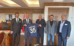 Bucaspor 1928 yönetimi İzmir'de Emniyet Müdürü Şahne ile buluştu