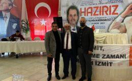 İzmit Belediyesi'nden Yeni Refah Partisine destek