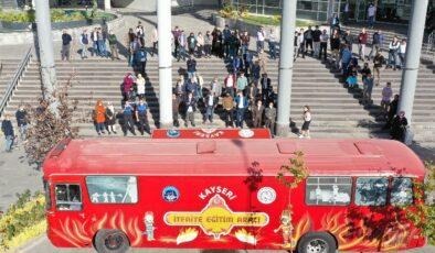 Kayseri Kocasinan'da yangın tatbikatı
