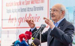 """Kılıçdaroğlu İzmir'den seslendi: """"Sorunlar Esnaf Bakanlığı ile çözülecek"""""""