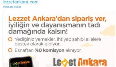İyiliğin ve dayanışmanın tadı: Lezzet Ankara'da sipariş başladı
