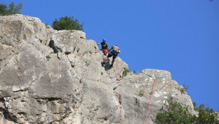 Kocaeli'nde Ballıkayalar Tırmanış Şenliği